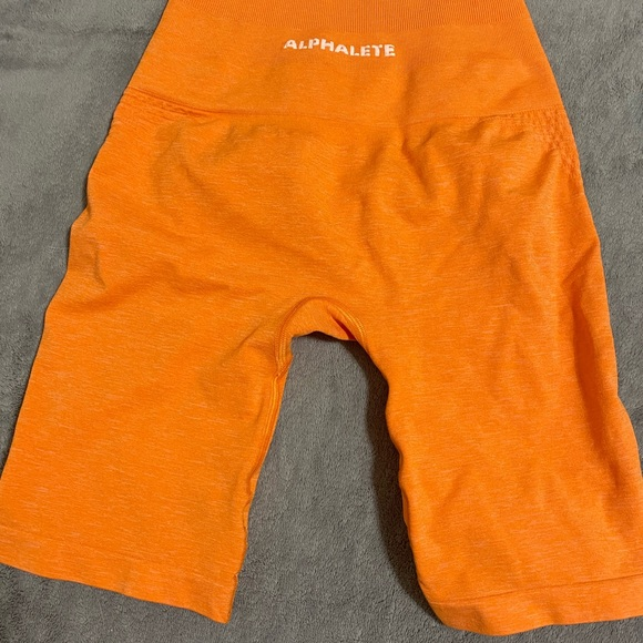 Alphalete biker shorts